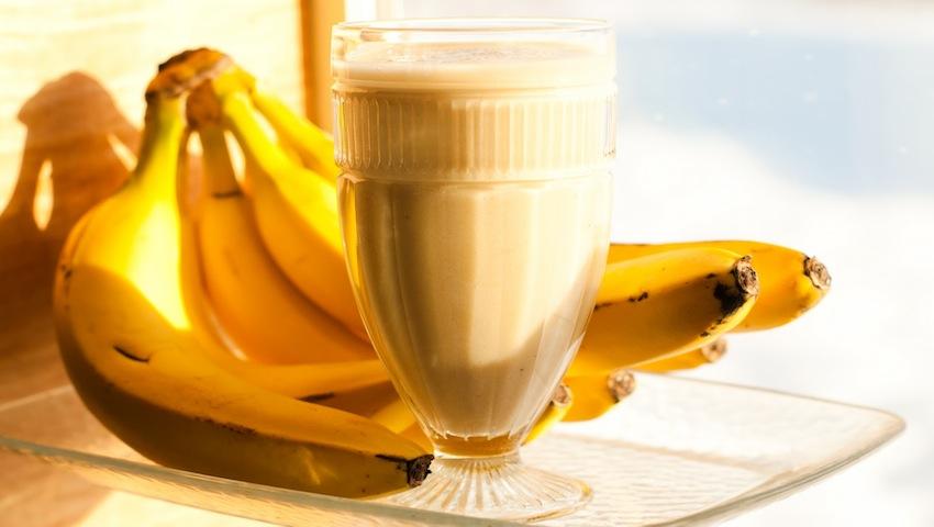 Smothie de banane si ananas