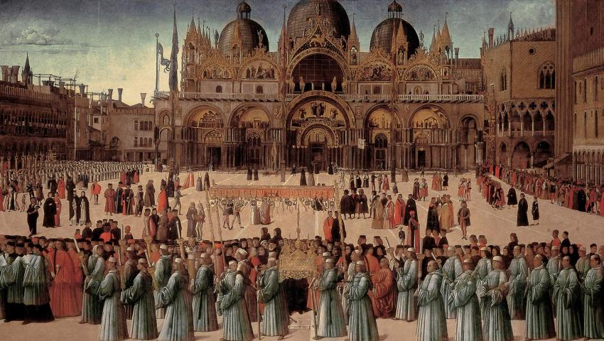 Pictorul italian Gentile Bellini