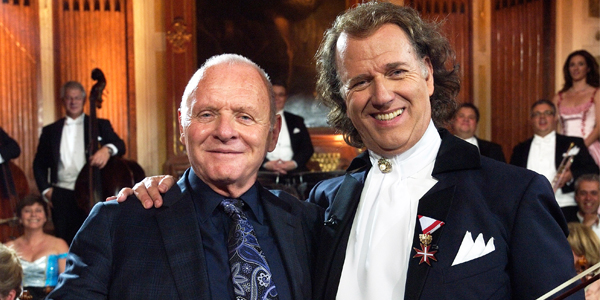 Andre Rieu si Sir Anthony Hopkins