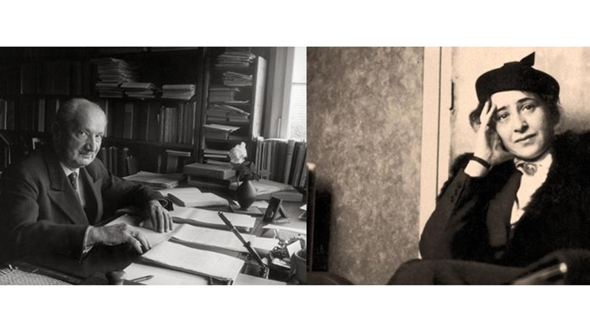 Hannah Arendt – Martin Heidegger: Vreau sa fii ceea ce esti (I)