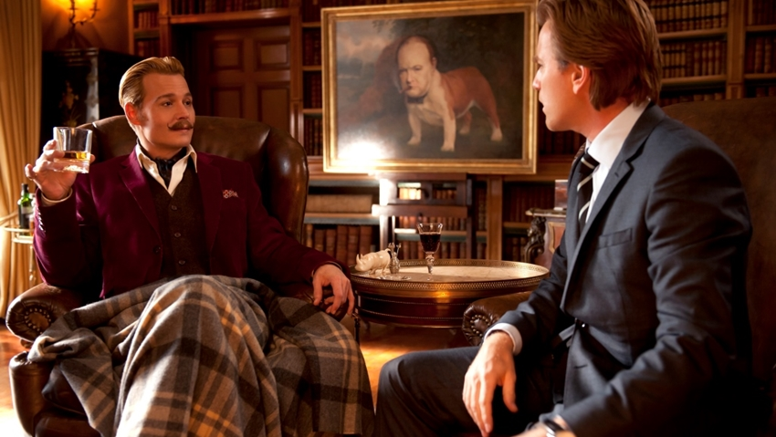 Johnny Depp: Mortdecai din 23 ianuarie in cinematografe