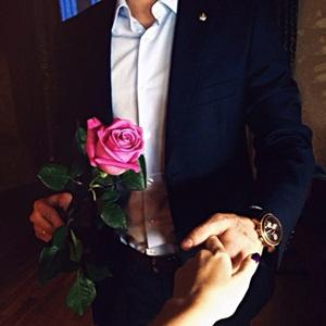 man-rose-elegant