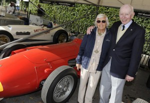 Maria Teresa De Filippis & John Surtees & Maserati 250F @ Goodwood 2011