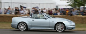 Maria Teresa De Filippis & Maserati GranSport Spyder @ Goodwood 2006
