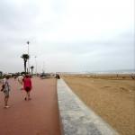 plaja si promenada agadir