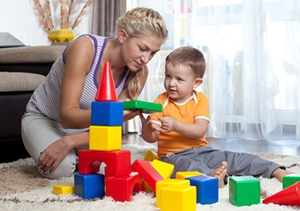 Playing-with-child