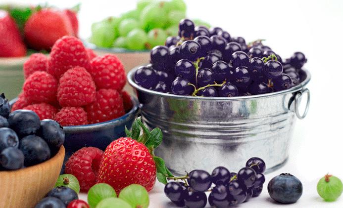 Nectar de fructe de padure si ceai verde
