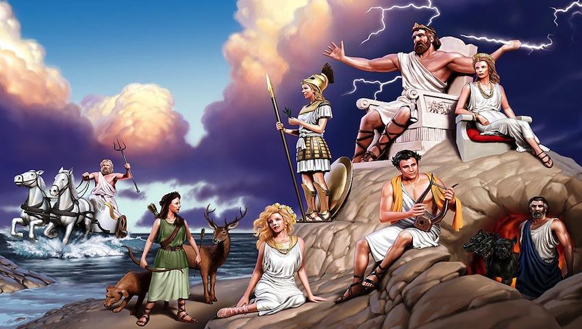 9 soacre sacre întrupate din Mitologia Greaca