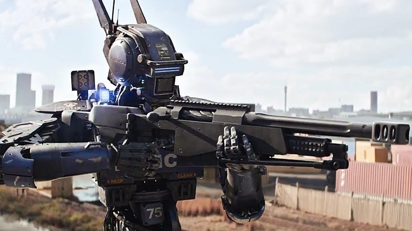 Chappie: robotul cu sentimente