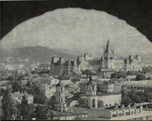 imagine de ansamblu cu Palatul