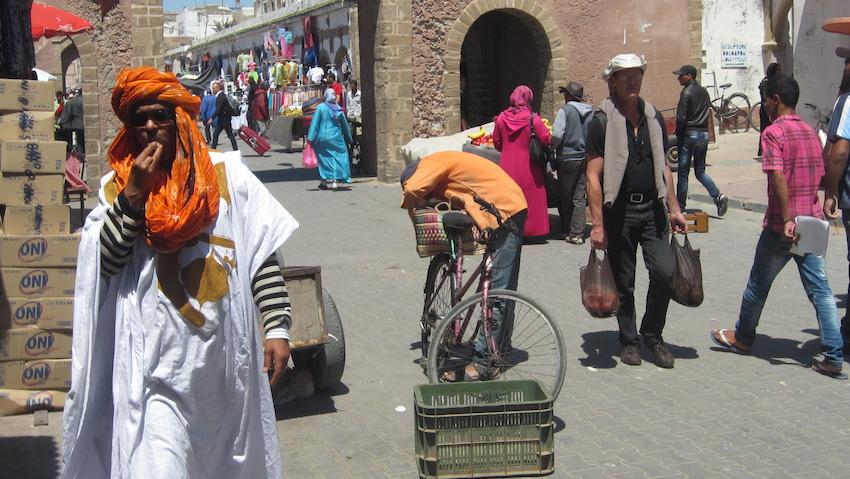 La plimbare prin Medina din Essaouira